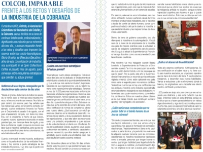 """COLCOB imparable"":"